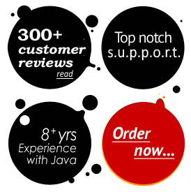 300+ customer reviews, great support, 8+ year experience